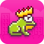 Download Hoppy Frog 2 - City Escape free for iPhone, iPod and iPad